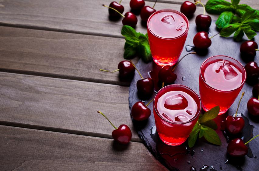 Cócter de cerezas
